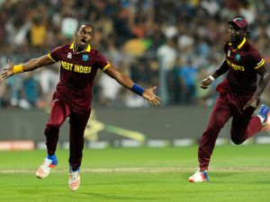 ICC Men's T20 World Cup - West Indies v Qualifier B2 - Surfers Gold Coast